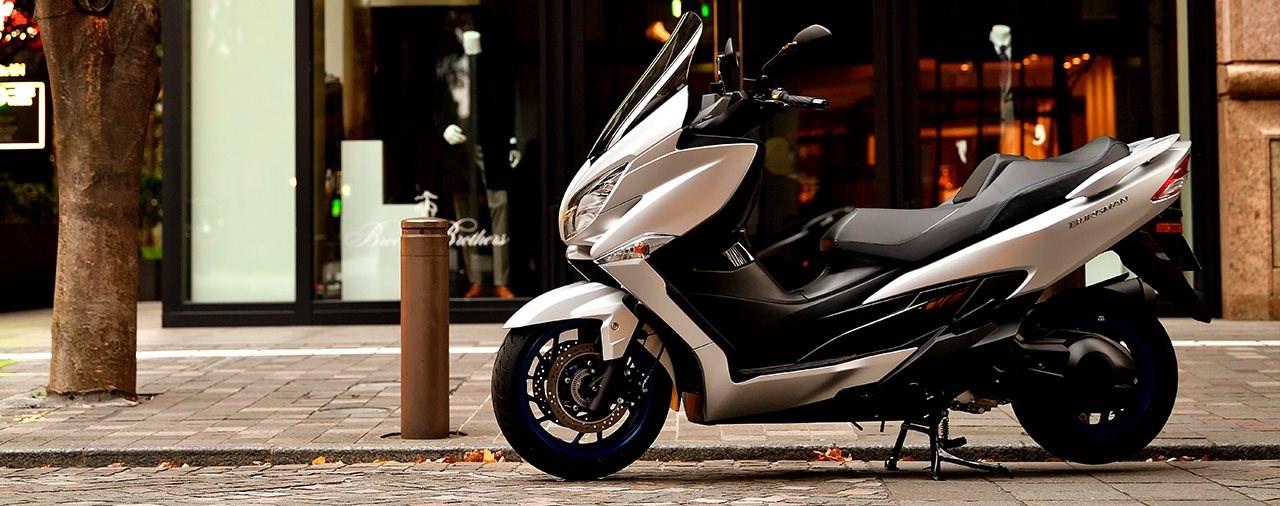 Neuer Suzuki Burgman 400 2021