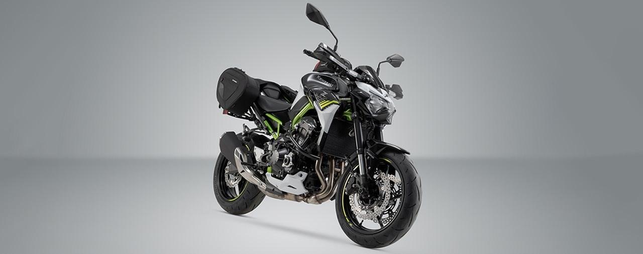 SW-Motech stattet die Kawasaki Z900 mit Zubehör aus