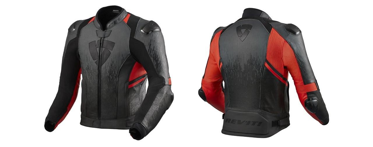 Die neue Rev'it Quantum 2 Motorrad Lederjacke