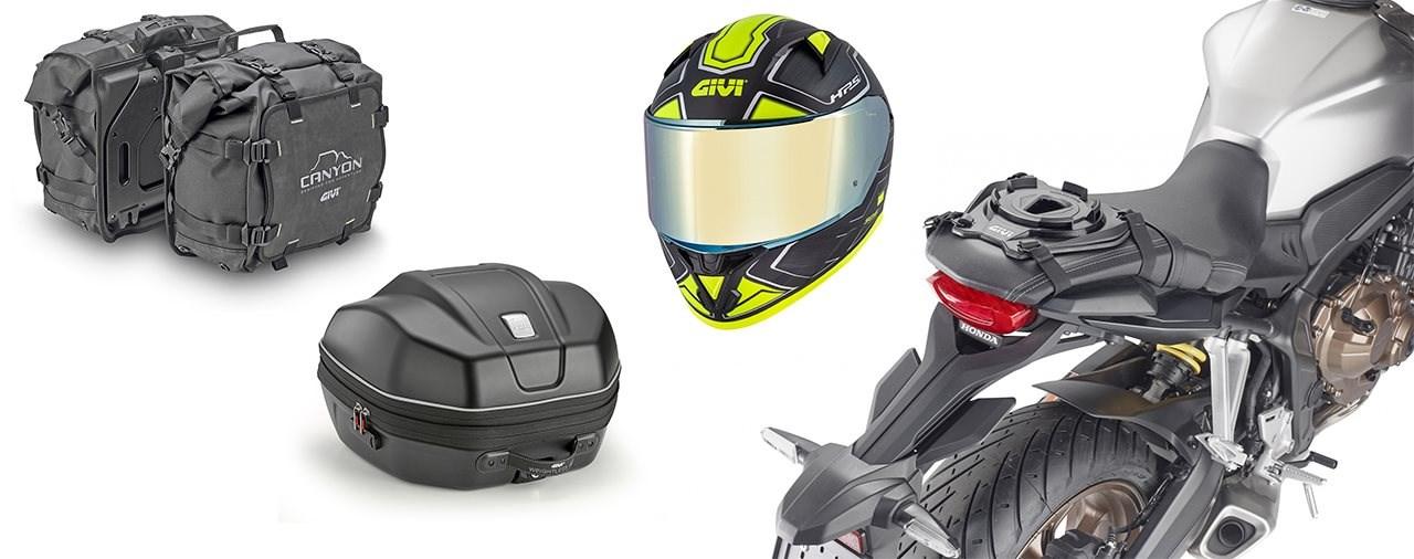 GIVI Neuheiten 2021 - Taschen, Montagesysteme und Helme