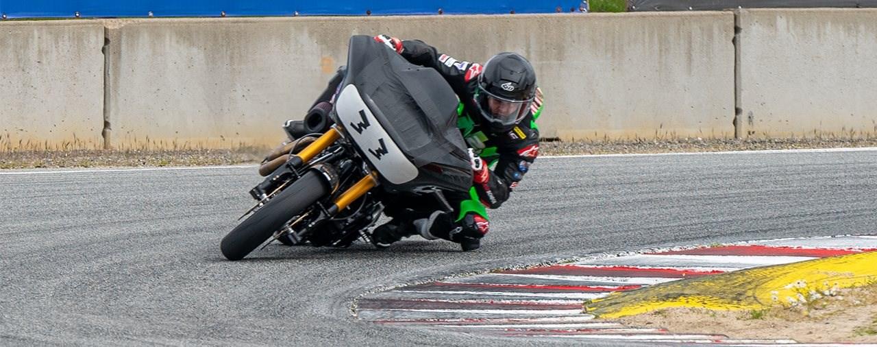 King of Baggers wird zu eigener Rennserie - Harley mit Werksteam