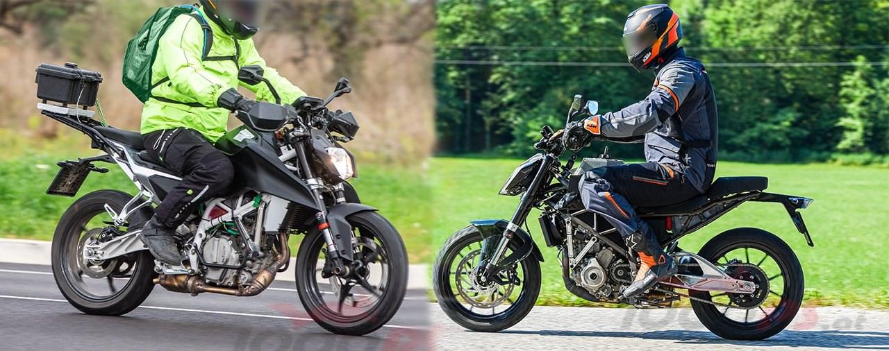 KTM entwickelt 125 Duke komplett neu - KTM Duke Erlkönige