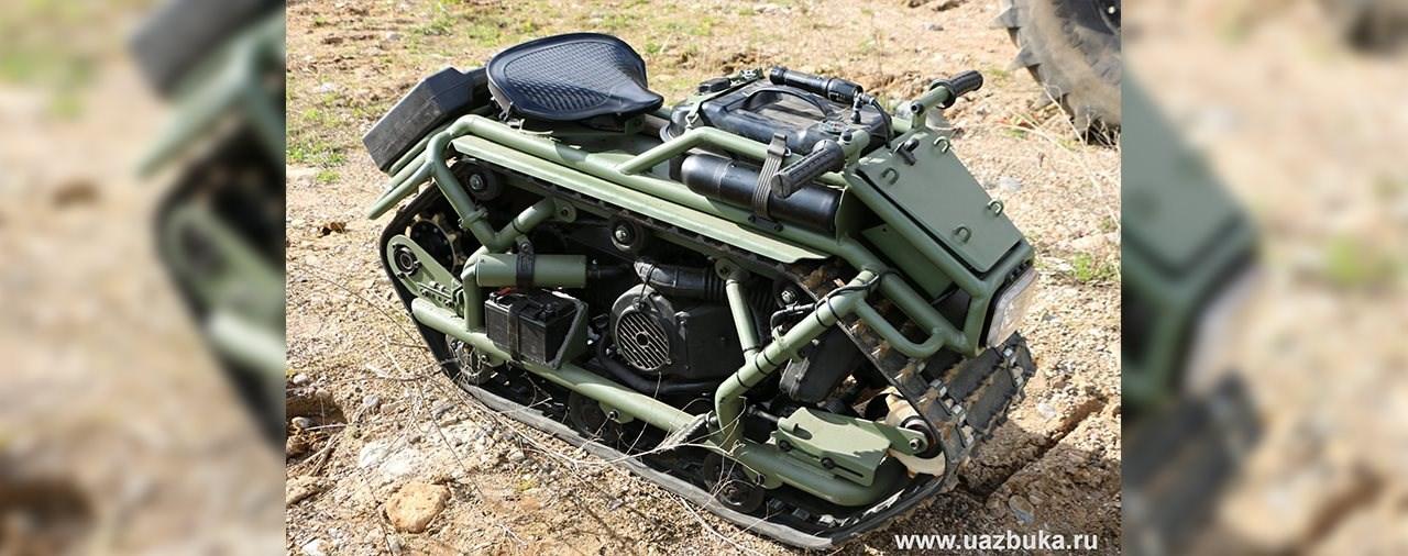 Das russische Kettenmotorrad - der HOMYAK