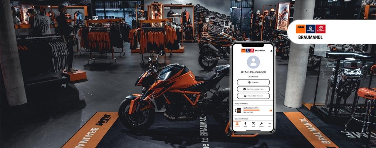 Die KTM Braumandl APP – ab sofort verfügbar!