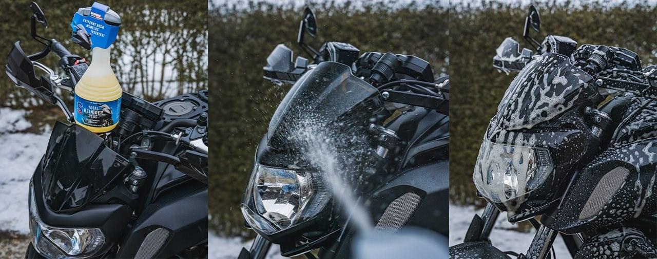 Selbsttrocknender Motorradreiniger - Dr. Wack S100 Total Reiniger