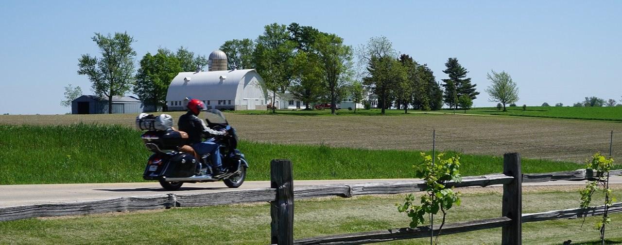 Motorradreise in Illinois - Biker-Paradies im Norden der USA