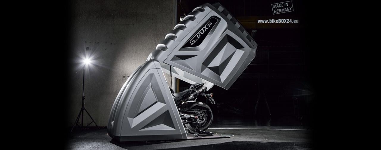 Die kompakte Garage für dein Bike: bikeBOX24