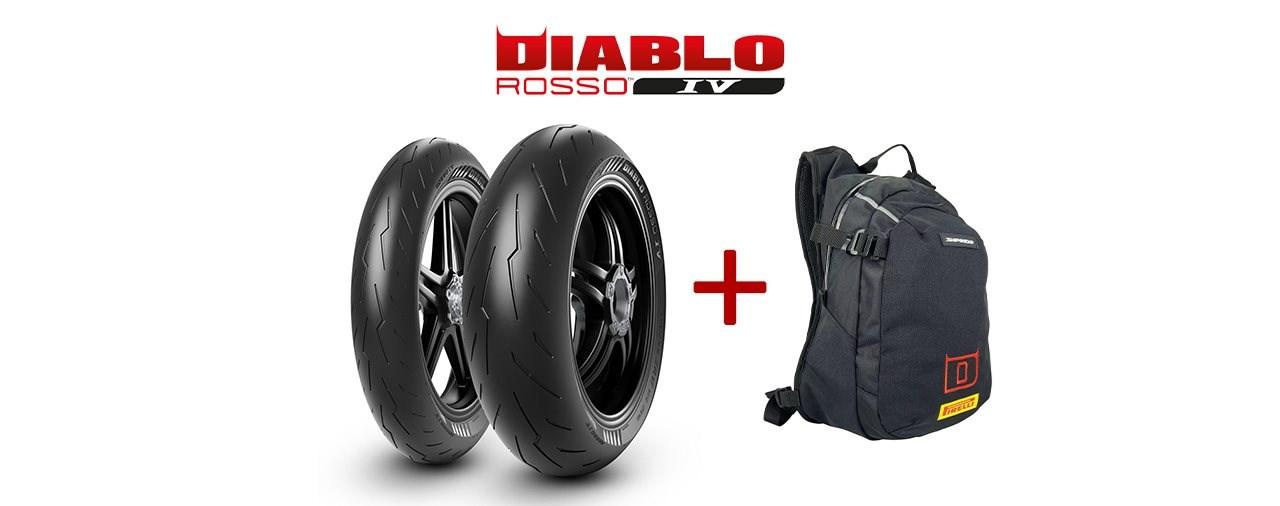 Pirelli Diablo Rosso 4 kaufen und Pirelli-Rucksack abstauben