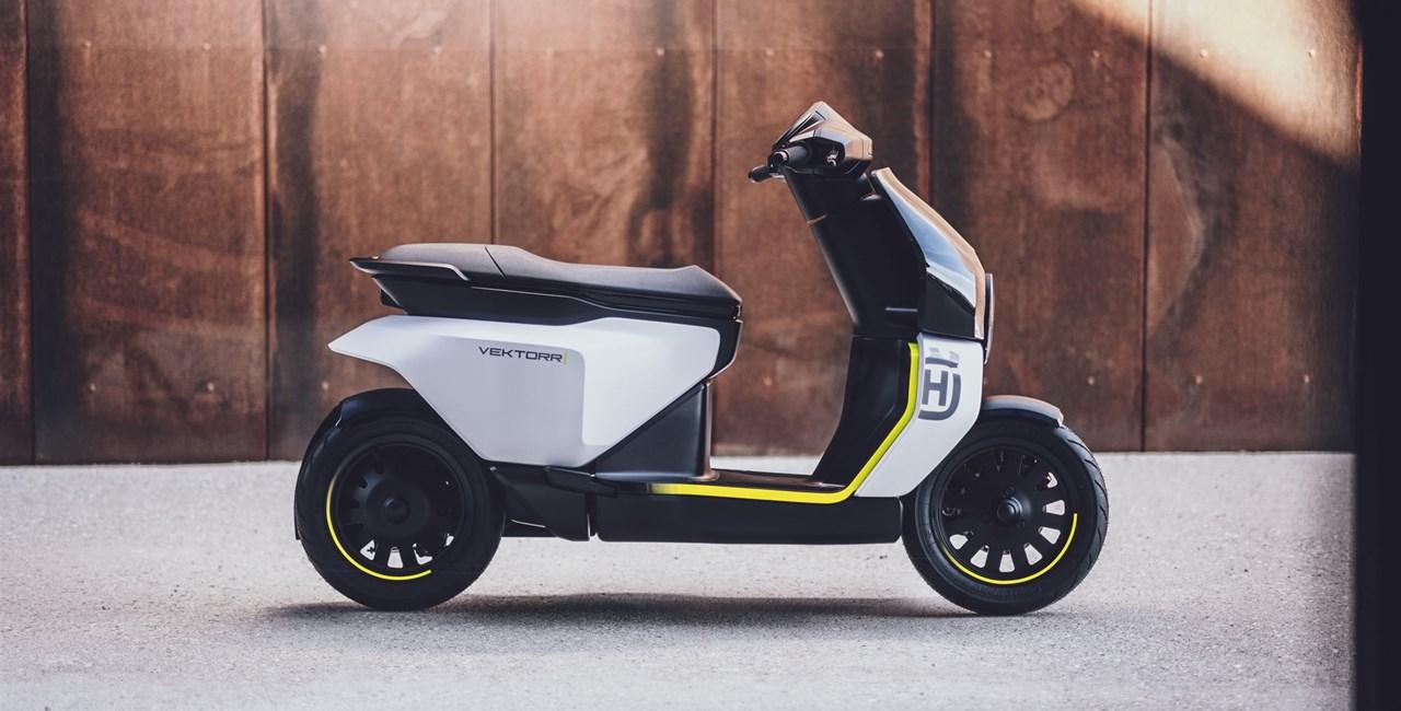 Husqvarna Motorcycles präsentiert ersten E-Roller