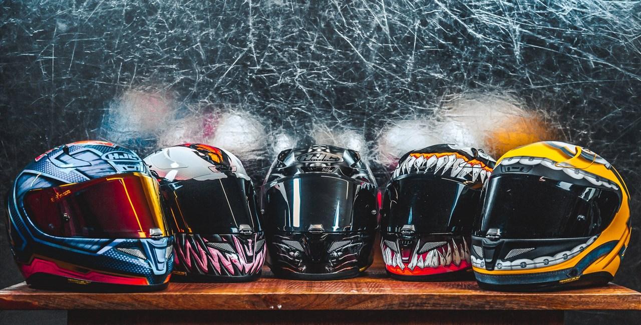 Werde zum Helden! ...oder zum Schurken - HJC RPHA 11 Comic-Helme
