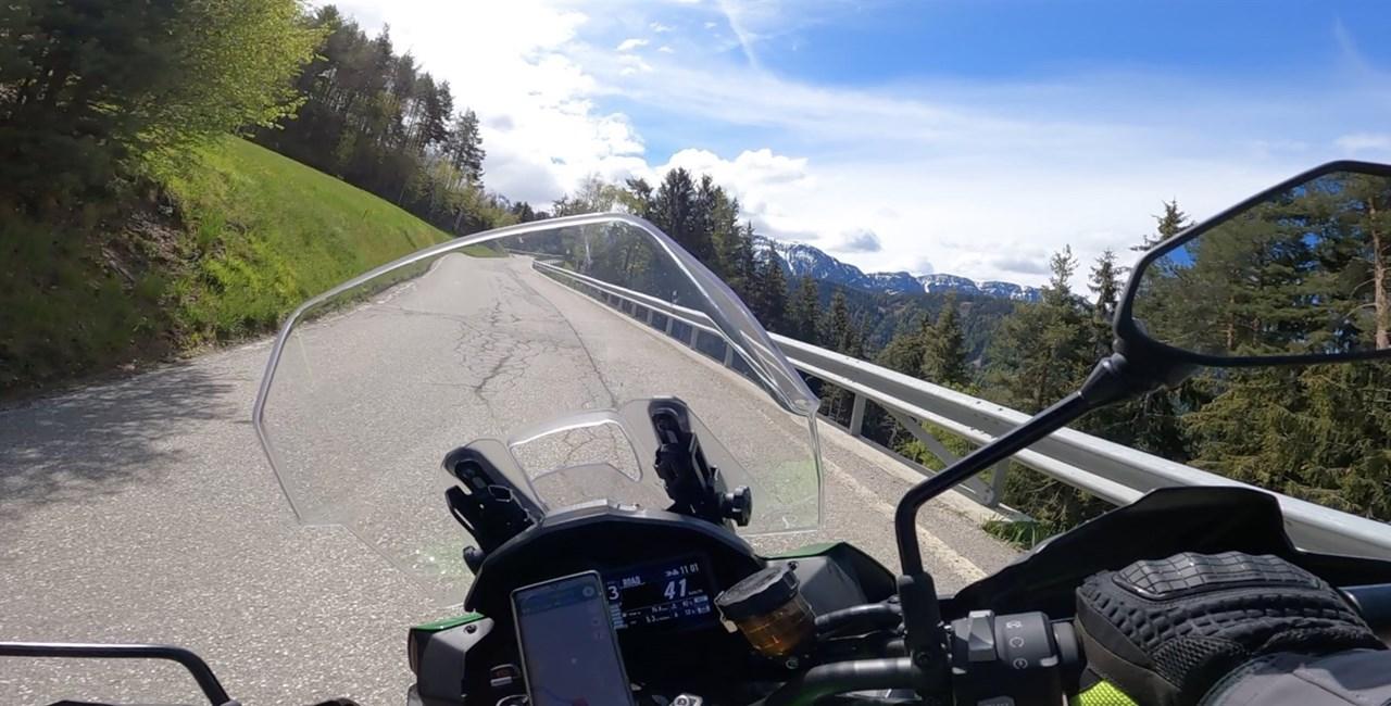 Motorradreise Südtirol 2021