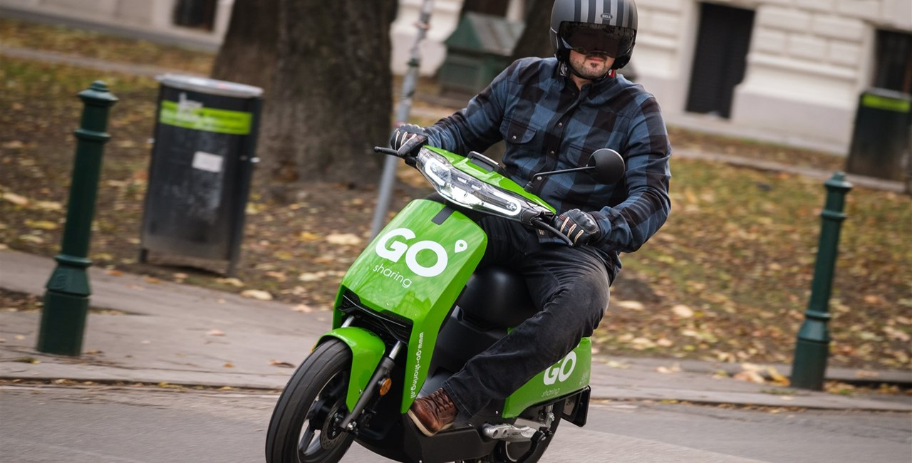 GO Sharing - E-Mopeds für jedermann in Wien: Alltags-Test