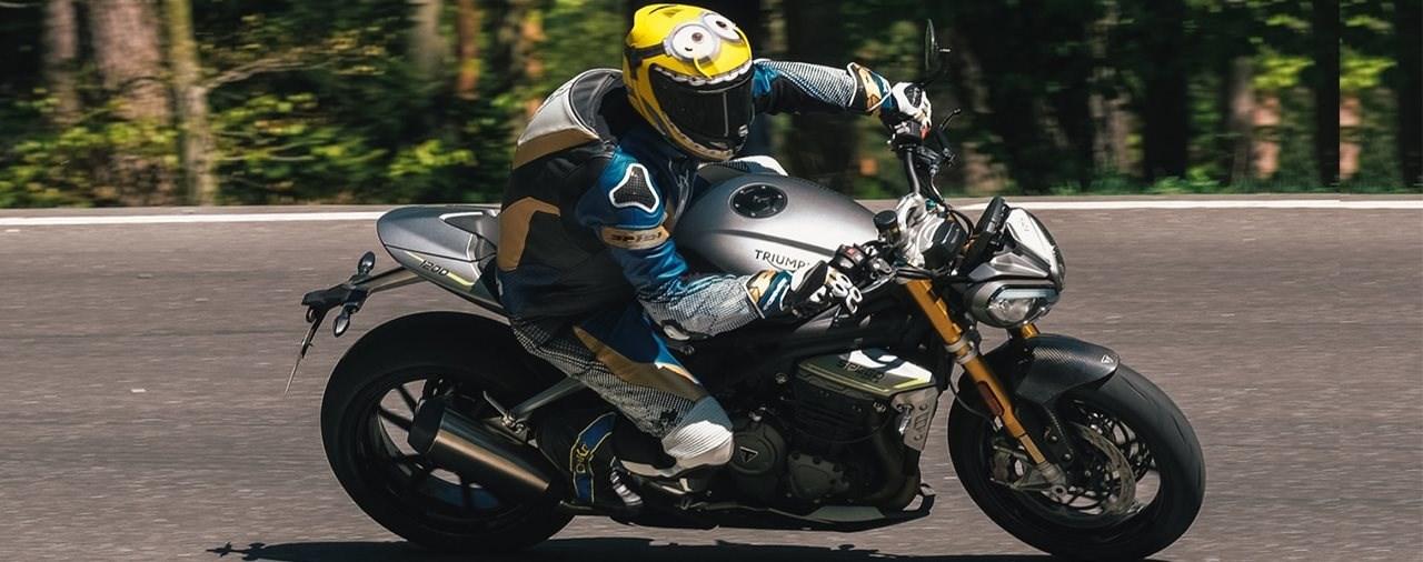 Hyper Naked Bike Vergleich 2021 - Triumph Speed Triple 1200 RS