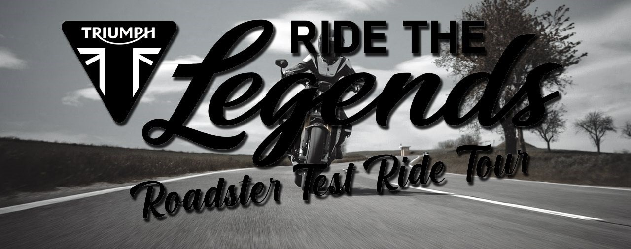 Die Triumph Test Ride Tour 2021