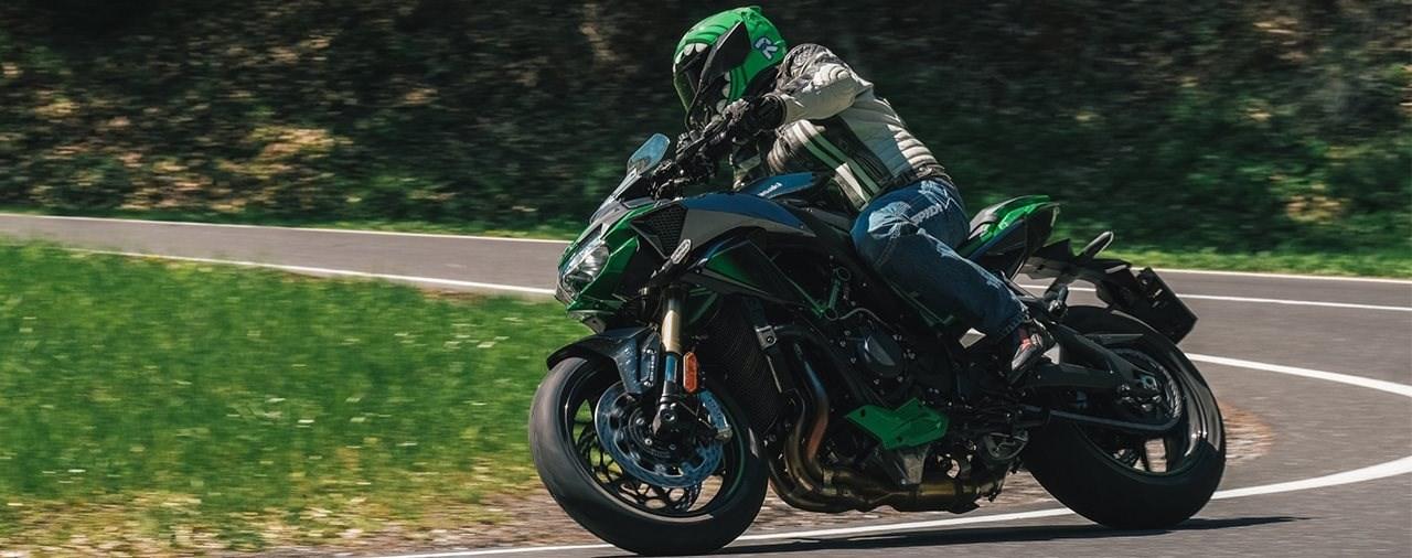 Hyper Naked Bike Vergleich 2021 - Kawasaki Z H2 SE