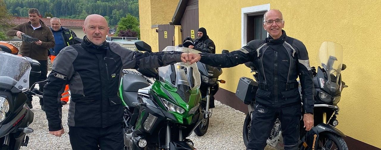 Sicher(er) durch den Motorrad-Alltag