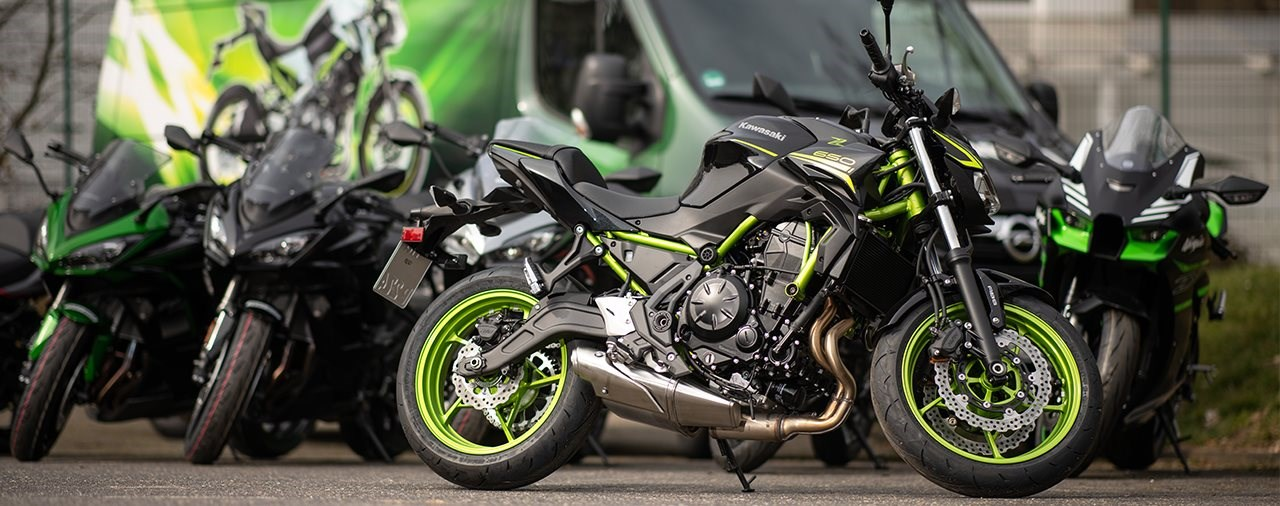 Alle Kawasaki Neuheiten bei der Kawasaki Roadshow testen