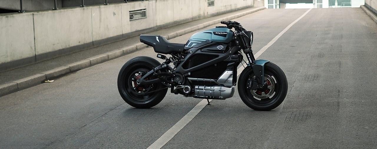 JvB-moto baut eine Custom Harley-Davidson Livewire