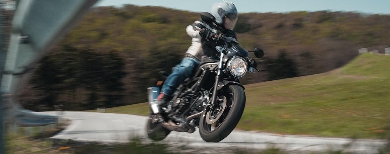 Einsteiger-Naked Bike Vergleich 2021 - Suzuki SV 650