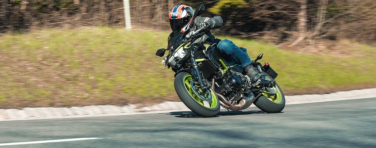 Einsteiger-Naked Bike Vergleich 2021 - Kawasaki Z 650