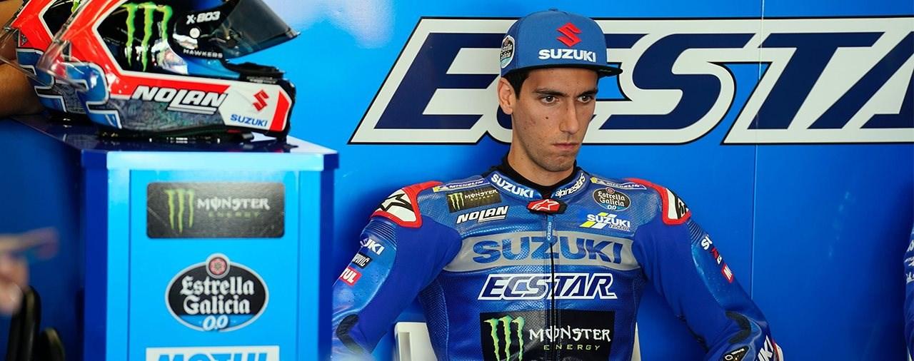 Alex Rins verletzt sich bei Radunfall - kein MotoGP Start