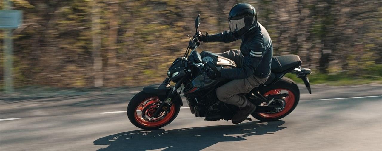 Einsteiger-Naked Bike Vergleich 2021 - Yamaha MT-07