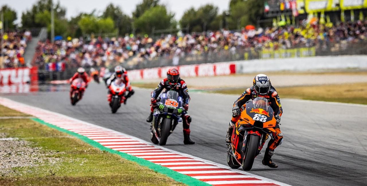 Oliveira siegt beim MotoGP von Barcelona
