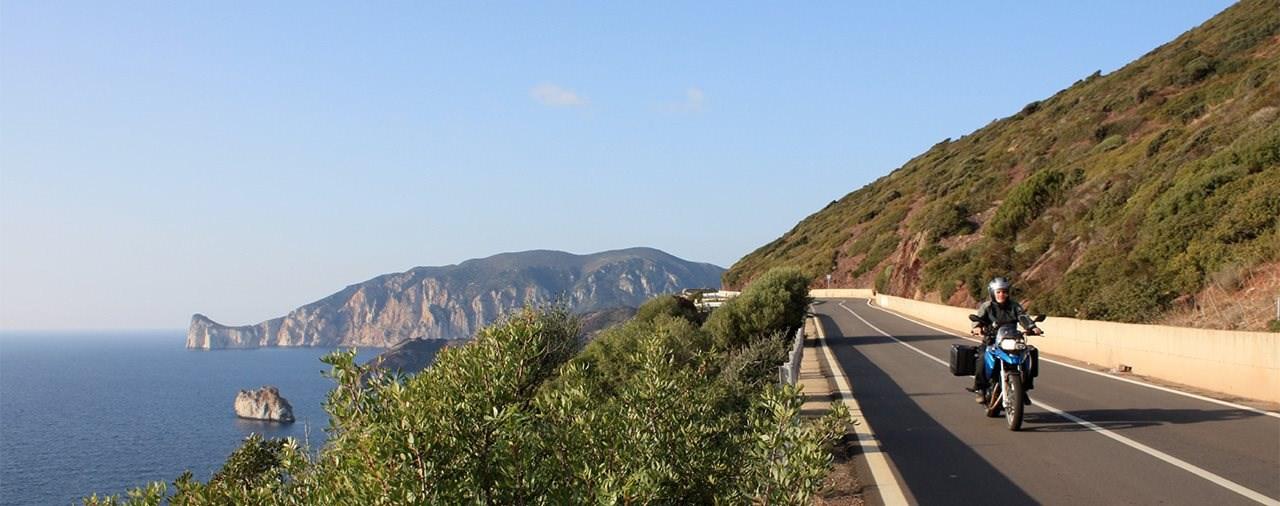 Mehr als Cappuccino und Cornetto - Motorradtour auf Sardinien