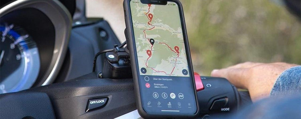 Smartphone-Halterung für Roller - SP Connect Scooter Bundle