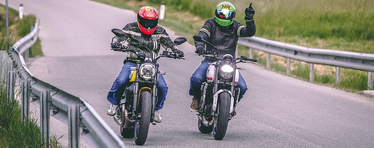 Ducati Scrambler Icon vs. Triumph Trident 660 2021