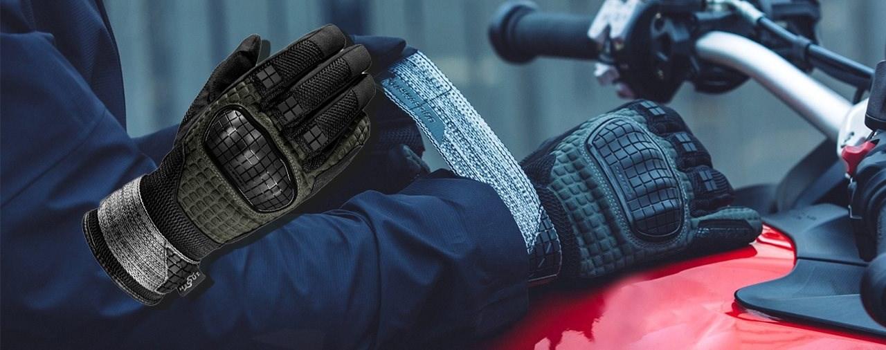 Neue Spidi Rainwarrior H2Out Handschuhe