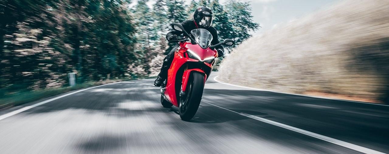 Ducati Supersport 950 S Landstraßentest 2021