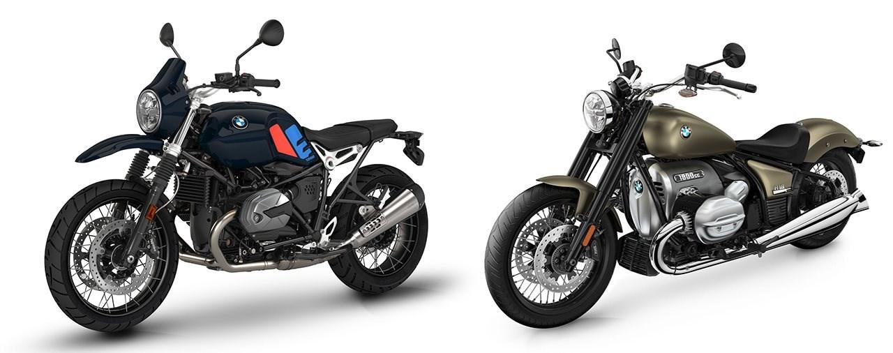 BMW Motorräder 2022 - Neue Farben und Ausstattung