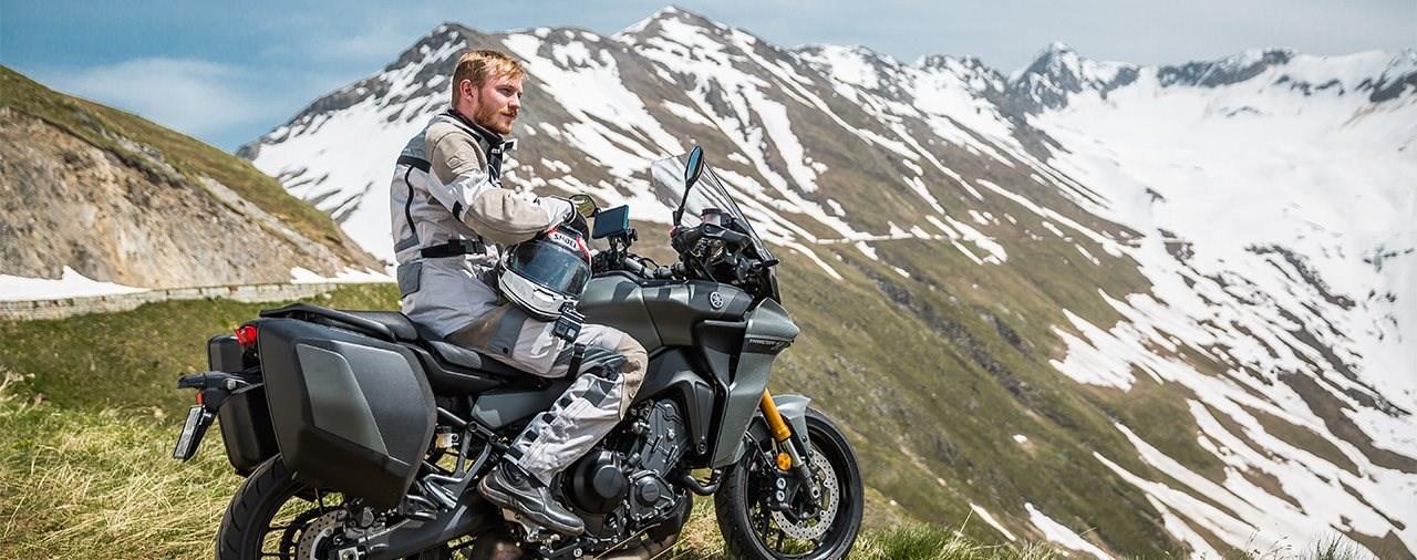 Auf die Pässe. Fertig. Los! - Yamaha Tracer 9 GT Alpen-Test 2021