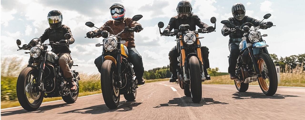 Ducati Scrambler Icon, Nightshift, Desert Sled, 1100 Sport 2021