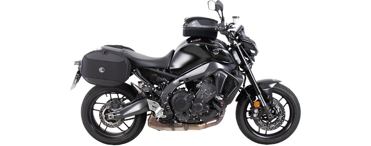 Taschen und Schutzbügel für die Yamaha MT-09 ab 2021