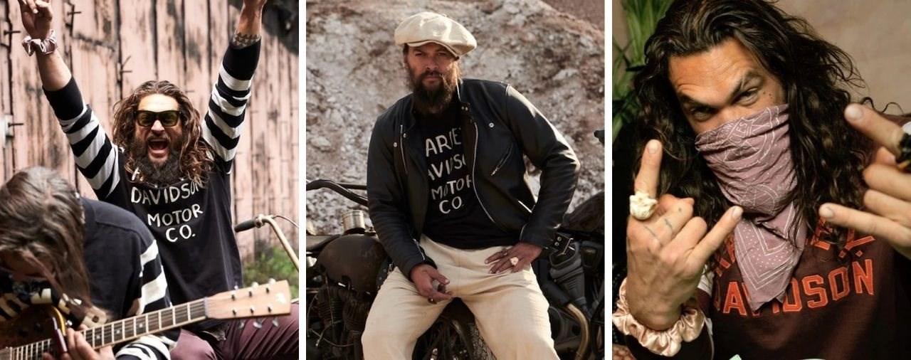 Jason Momoa mit eigener Harley-Davidson Kollektion