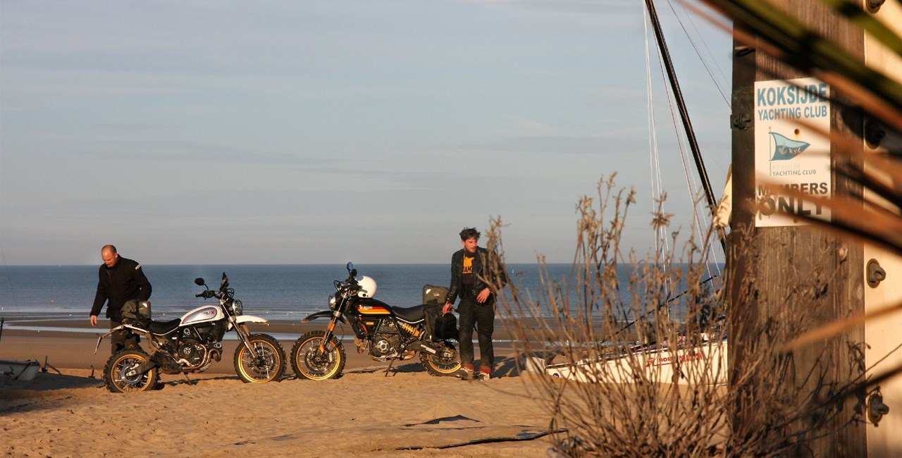 Einmal ans Meer - Motorrad-Reise in Belgien