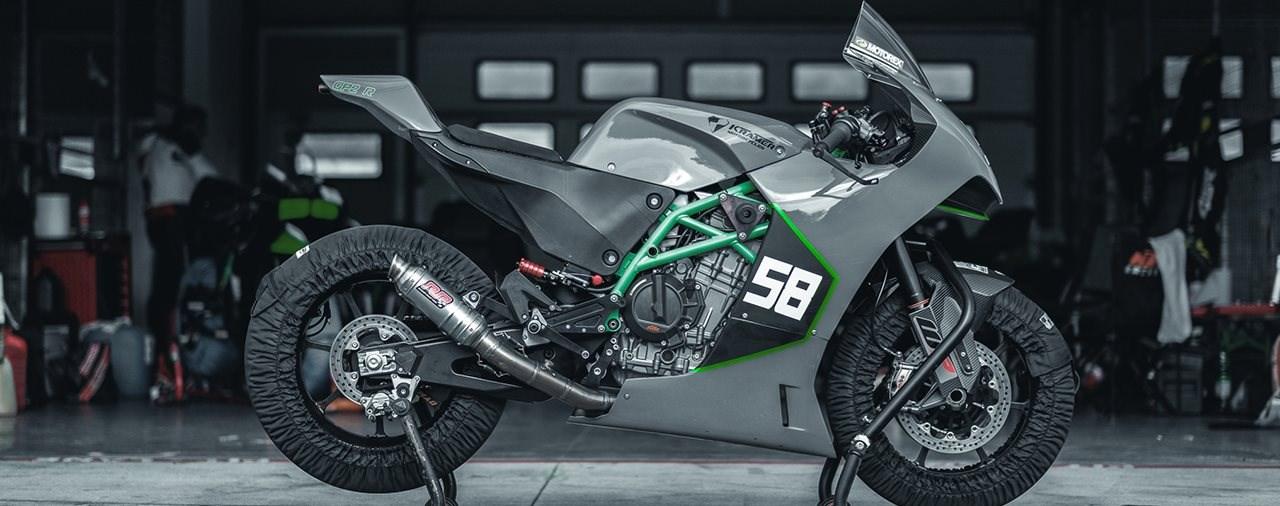 Neuer KTM Supersportler für die Rennstrecke
