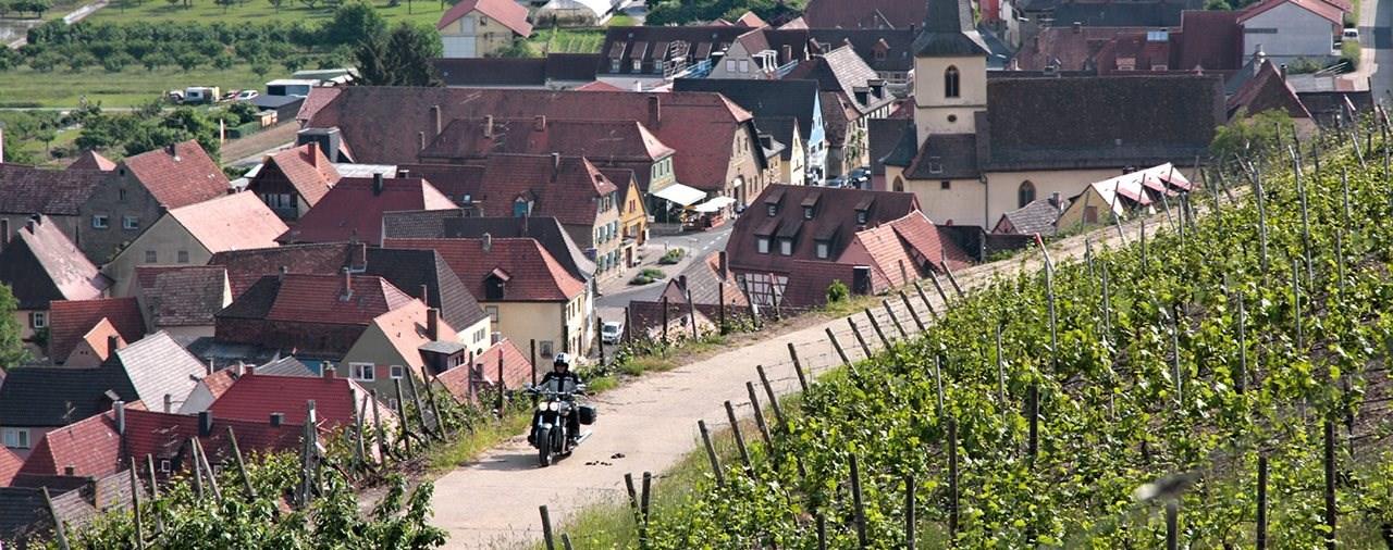 Main, Wein und Geröll - Motorradreise nach Mainfranken