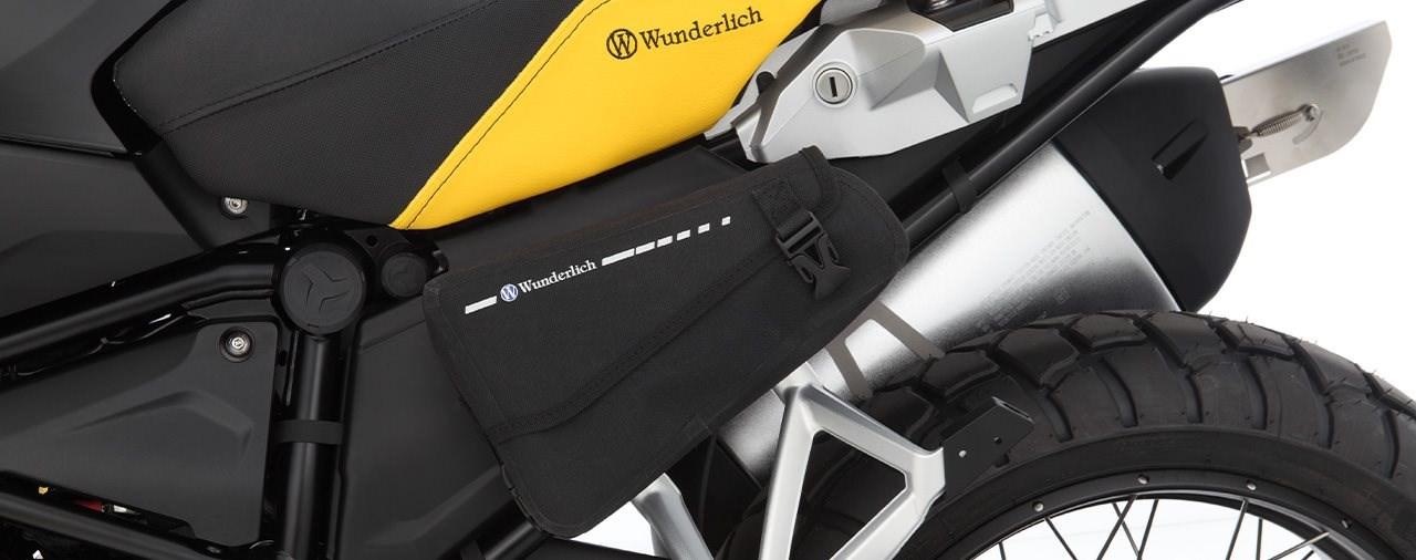 Praktische Wunderlich Rahmenverkleidung und -tasche für GS-Boxer