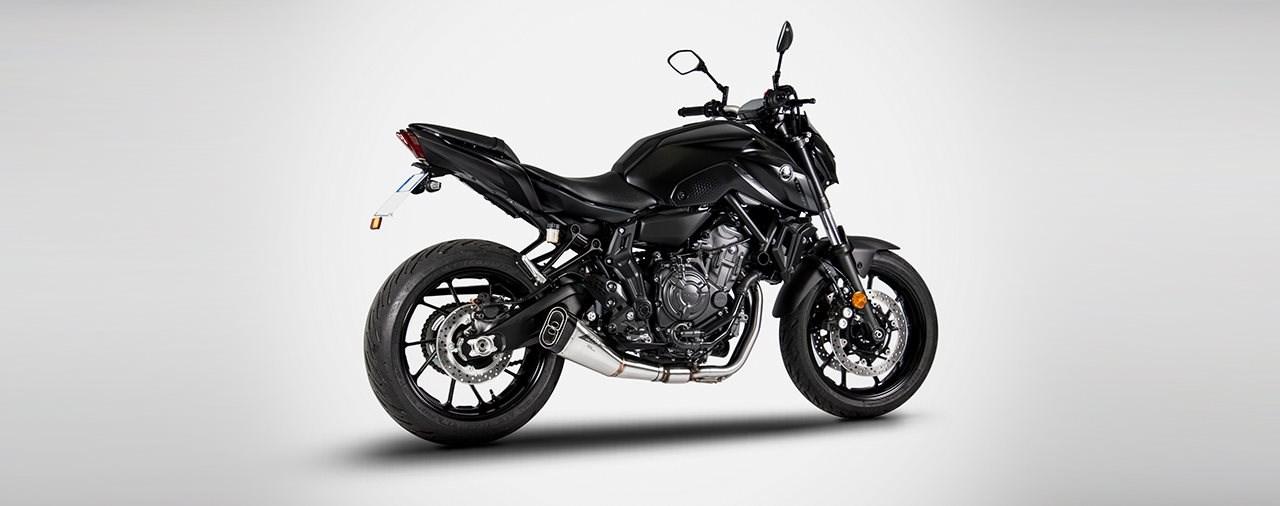 Zard Auspuff für die Yamaha MT-07 ab 2020