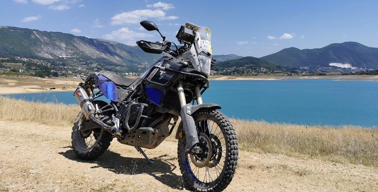 Enduro Bosnien mit Yamaha Tenere 700