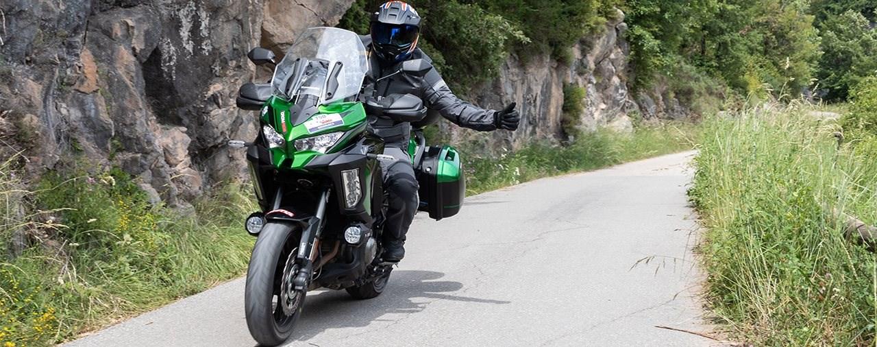 Kawasaki Versys 1000 S gegen SE - 1000 Kurven an einem Tag!
