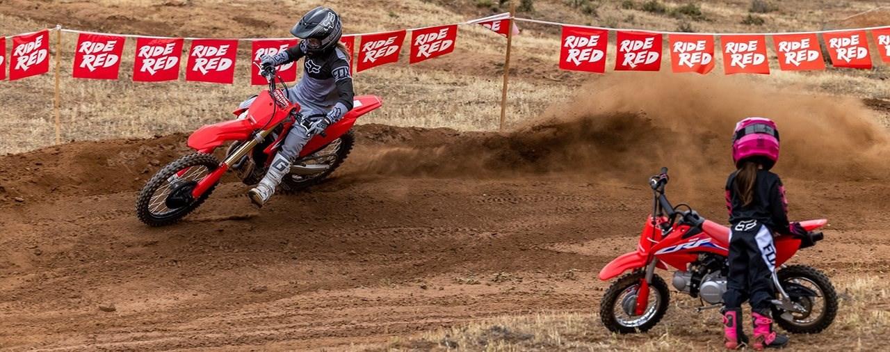Honda Motocross Modelle 2022