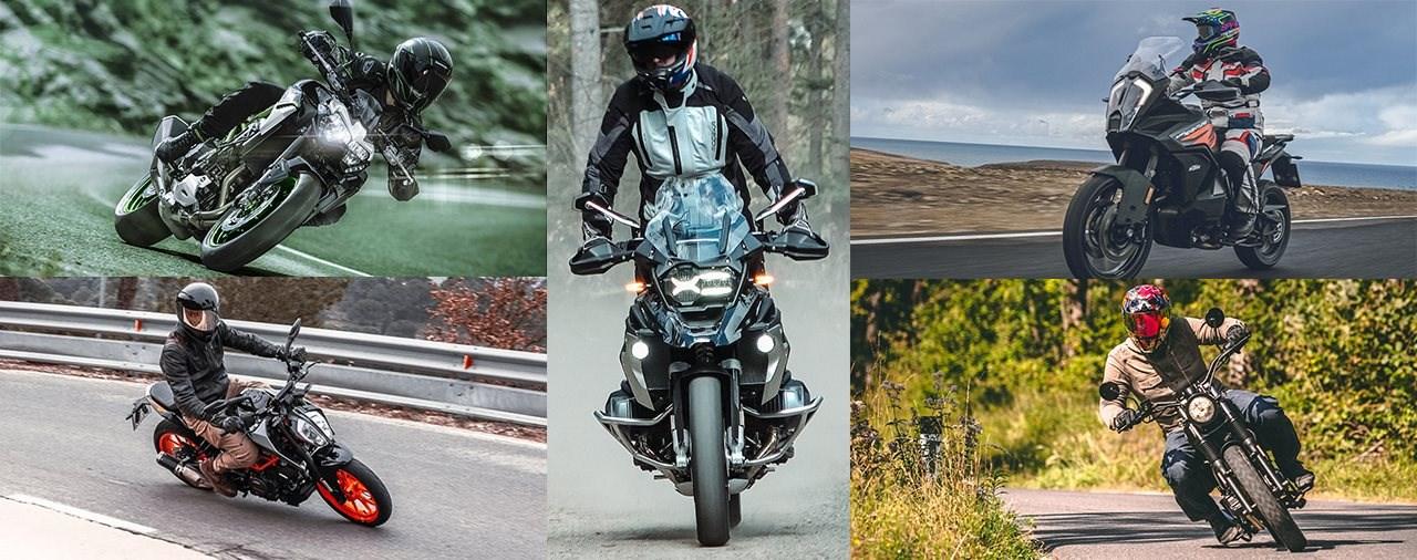 Die meistverkauften Motorräder in Österreich - 1. Halbjahr 2021