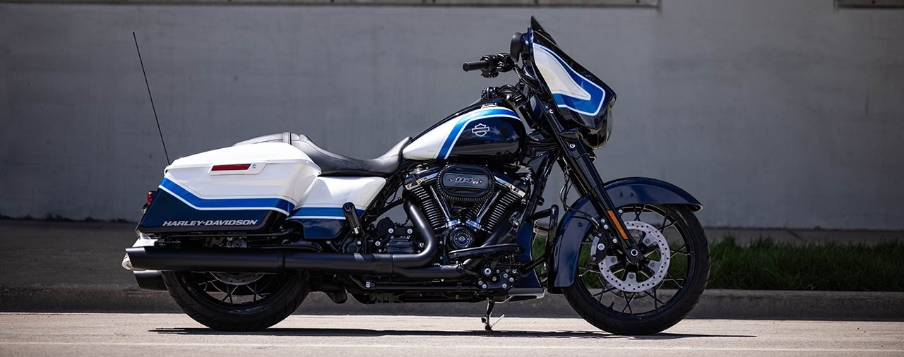 Harley-Davidson Street Glide Special Arctic Blast Limited Edition