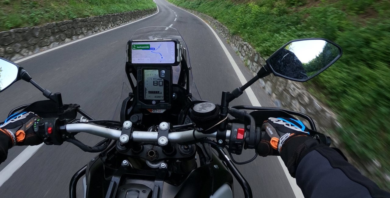 Motorrad Handy für Navigation