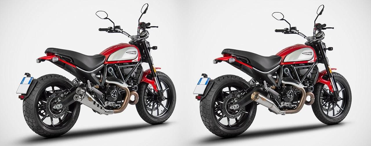 Ducati Scrambler 800 Zard Zubehör Auspuff (ab 2020)