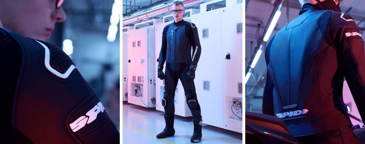 Neuer SPIDI Laser Touring Leder Zweiteiler